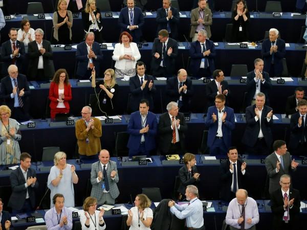 Малко след като приключи изслушването в Европейският парламент на кандидата