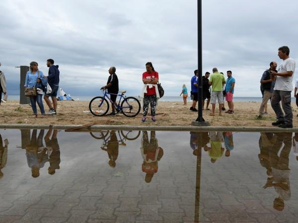 След като поройни дъждове и силни ветрове засегнаха Северна Гърция,