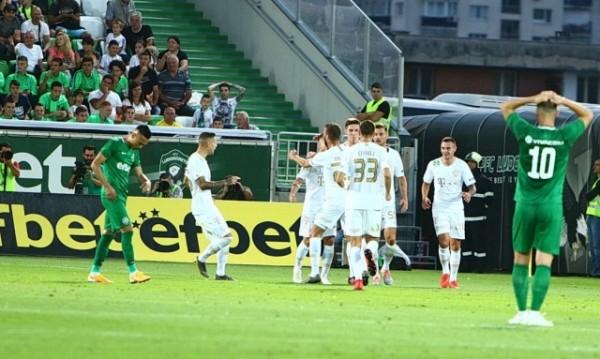 Лудогорец приключи с участието си в Шампионска лига