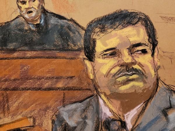 """Американски съдия осъди мексиканския наркобос Хоакин """"Ел Чапо"""" Гусман на"""