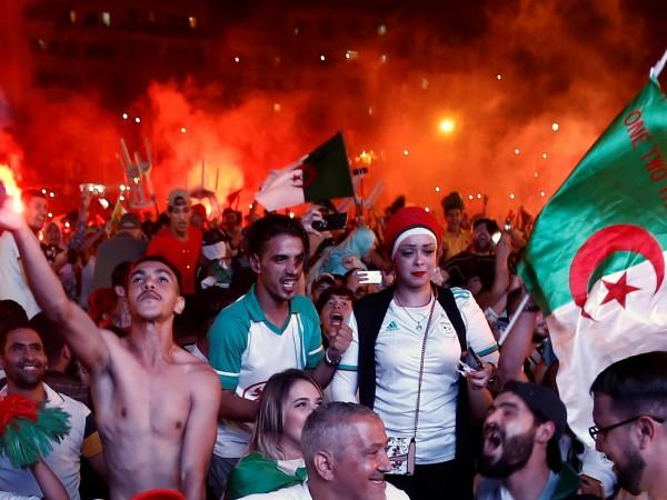 Снимка: Франция се готви... за финала на Купата на африканските нации
