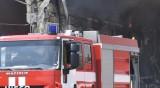Камион със слама изгоря край Рожен, гората е спасена