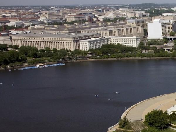 Температурата на водата в река Потомак, преминаваща през американската столица