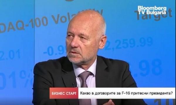 Проф. Тагарев: Бойно дежурство на F-16 - към края на 2024-та