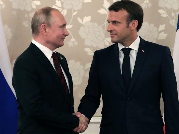 Френският президент Еманюел Макрон заяви днес, че се готви да