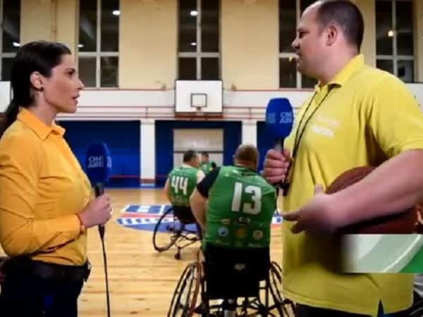 Снимка: Владимир Искров за мисията на баскетбола на колички