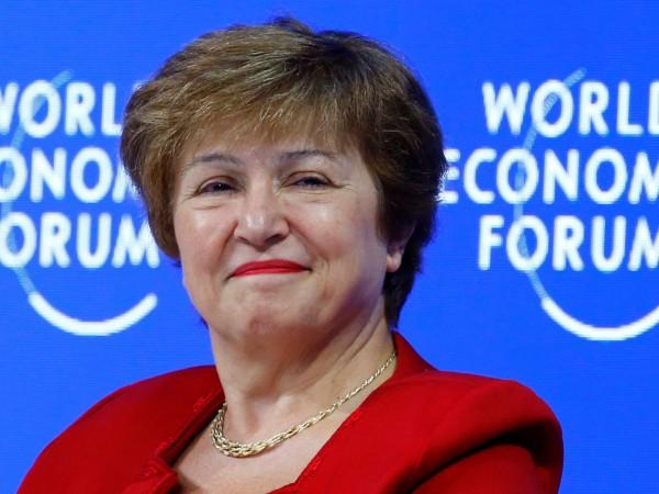 Снимка: Кристалина Георгиева с най-голяма подкрепа за шеф на МВФ?