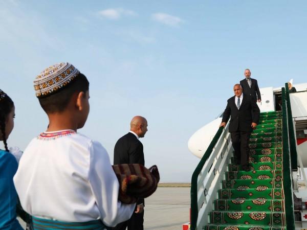 Министър-председателят Бойко Борисов ще разговаря в Туркменистан за пренос на