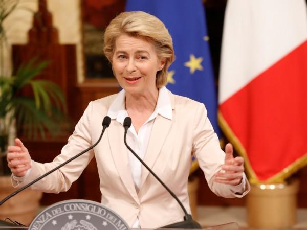 Избраната за председател на Европейската комисия Урсула фон дер Лайен