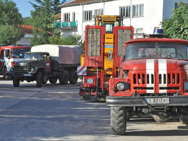 Пожарът между хасковските села Брягово, Любеново и Родопи е ликвидиран,