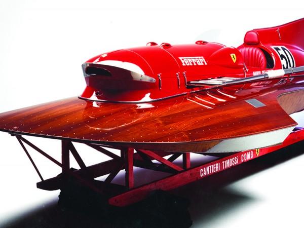 Малко хора я помнят, но Ферари създава лодка, която успява
