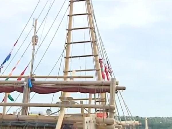 Международната морска експедиция с тръстиковия кораб АБОРА IV отплава от