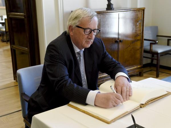 Председателят на Европейската комисия Жан-Клод Юнкер се е върнал в