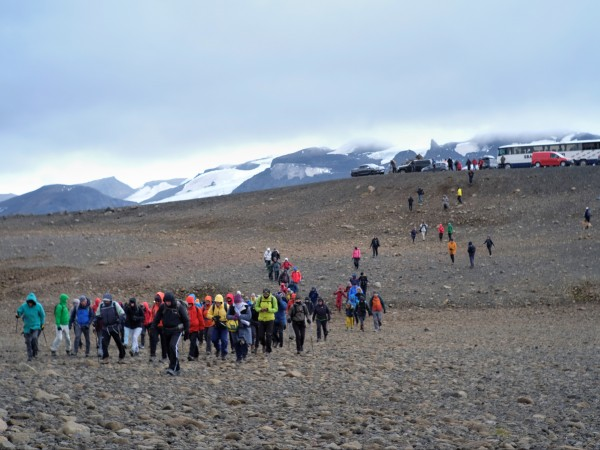 """Правителството на Исландия обяви официално вчера първата """"смърт"""" на ледник"""