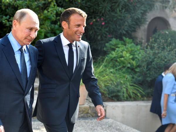 Френският президент Еманюел Макрон каза, че се надява разговорите с