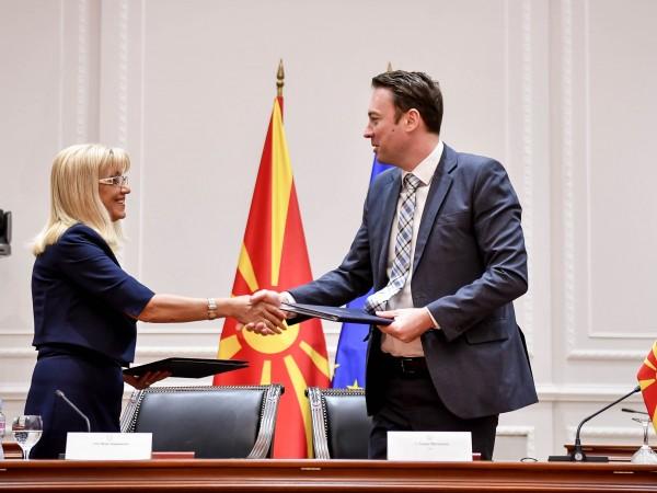 Снимка: Засилваме трансграничното сътрудничество със Северна Македония