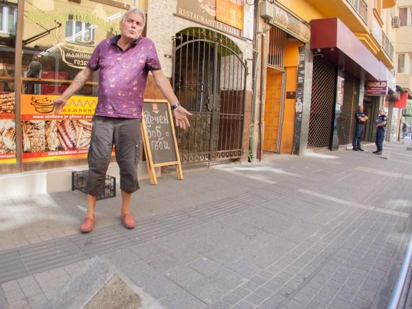 """Александър Рогачев, мъжът, който изкърти """"перките"""" на столичната улица """"Граф"""