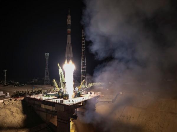 """Ракета """"Союз-2.1а"""" с кораба """"Союз МС-14"""" беше изстреляна днес от"""