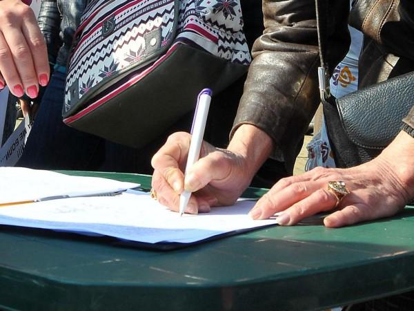 Подписка с искане на доживотна присъда за извършителя на убийството
