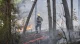 "Багер предизвика пожар в района на двореца ""Кричим"""