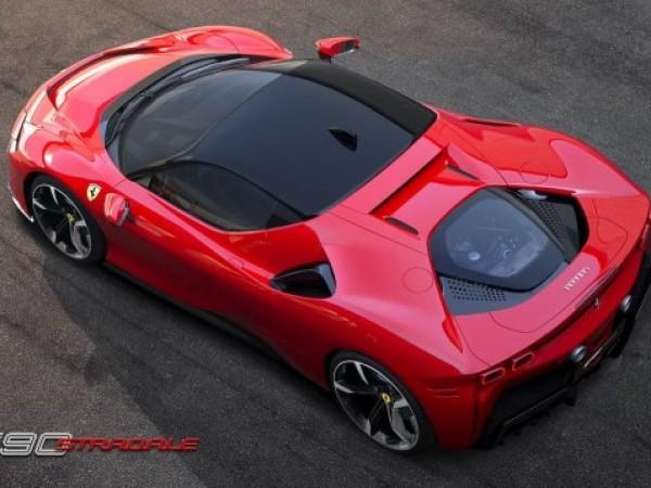 През есента на пазара ще излезе новата хиперкола на Ferrari.