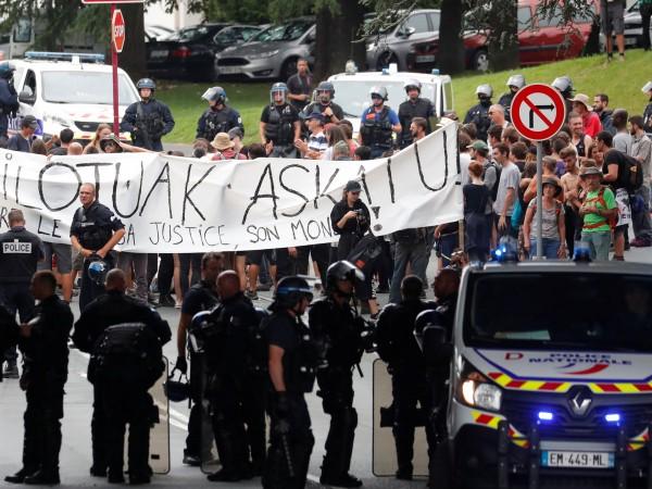 Трета за два дни демонстрация събра тази сутрин във френския