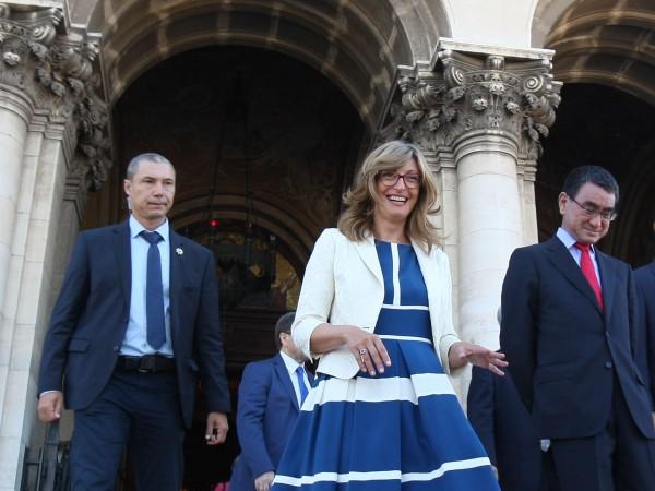По предложение на вицепремиера Екатерина Захариева министър-председателят Бойко Борисов назначи