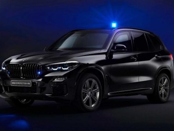 Компанията BMW представи сериозно бронирана версия на кросоувъра си X5,