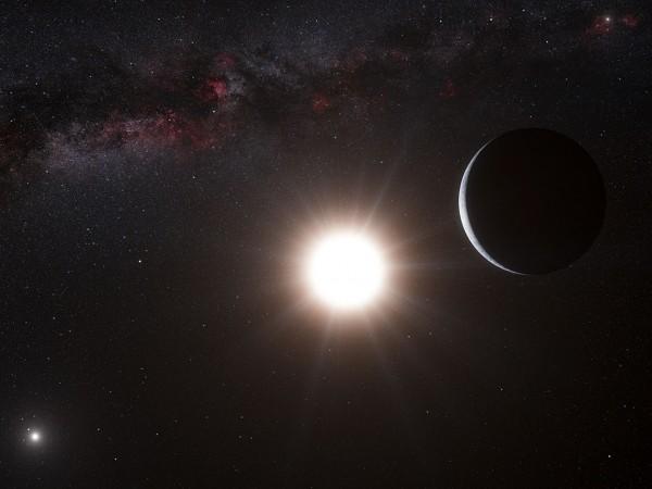 Снимка: Откриха гигантска екзопланета със странна орбита