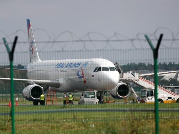 Руски пътнически самолет кацна принудително след сблъсък с птици. За