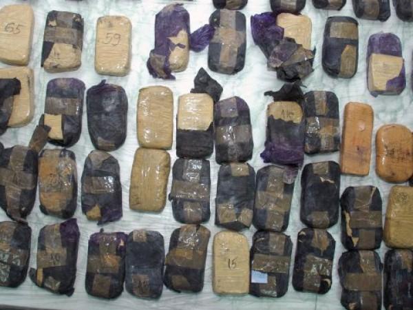 Снимка: Рекордно: На Острова заловиха 1,3 тона хероин сред хавлии