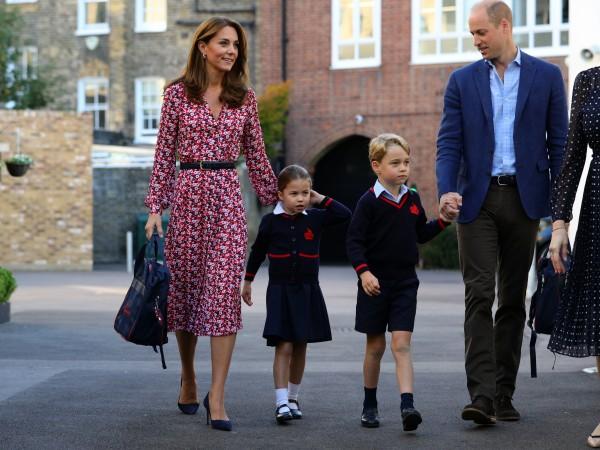 Британската принцеса Шарлот - дъщерята на принц Уилям и съпругата