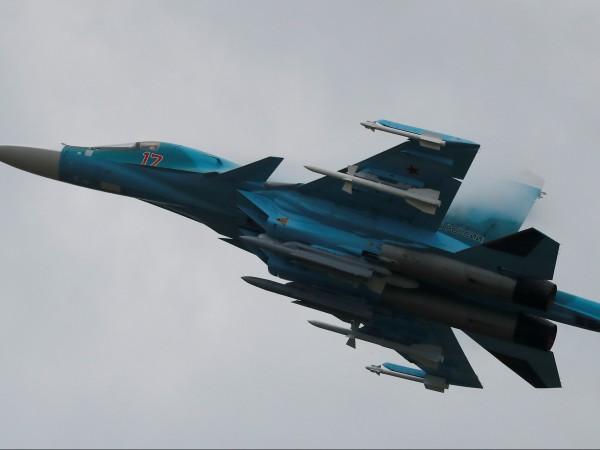 Два изтребителя-бомбардировачи Су-34 са се сблъскали в небето над областта