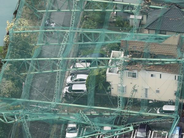 Тайфунът Факсай, който връхлетя Токио и околностите му в неделя
