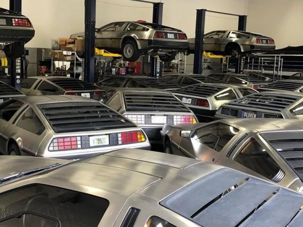 Рядкост е да видиш дори и един DMC DeLorean на
