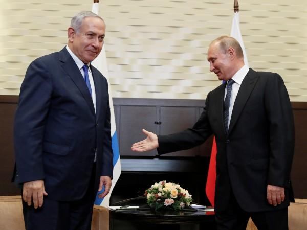 Израелският премиер Бенямин Нетаняху посети Сочи в стремеж да си