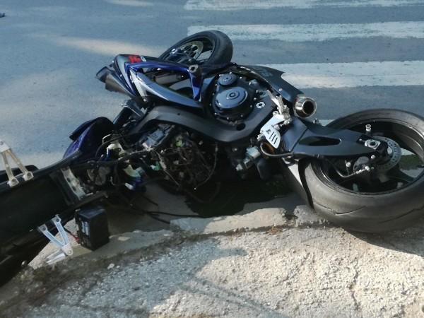 Мотоциклетист е пострадал при катастрофа през изминалото денонощие във Варна,