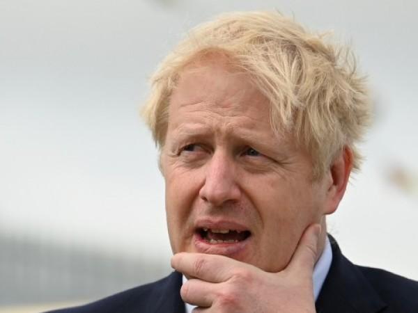 Британският премиер Борис Джонсън е оприличил себе си с буйния