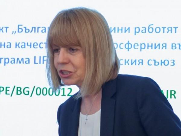 Столичният кмет Йорданка Фандъкова се похвали с инвестициите на общината