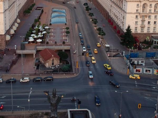 Временна промяна в движението в столицата се въвежда от Столична