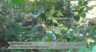 Старият гробищен парк на Силистра плаши хората
