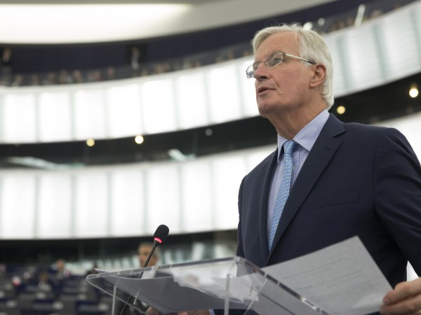 Главният преговарящ от ЕС за Brexit Мишел Барние каза на