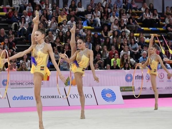 Българският ансамбъл по художествена гимнастика успя да запази мястото си