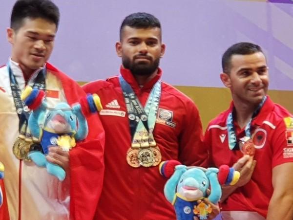Божидар Андреев спечели три медала на световното първенство по вдигане