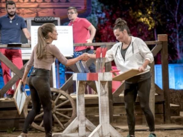 """Актрисата Саня Борисова се сбогува с """"Фермата"""" след оспорвана битка"""