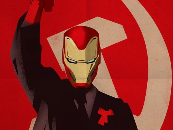 Македонският артист Зоран Кардула успя да превърне американски супергерои в
