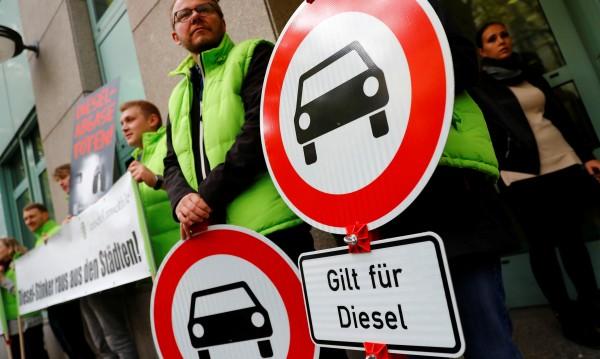 В Берлин отложиха забраната на дизелите, нямат знаци!
