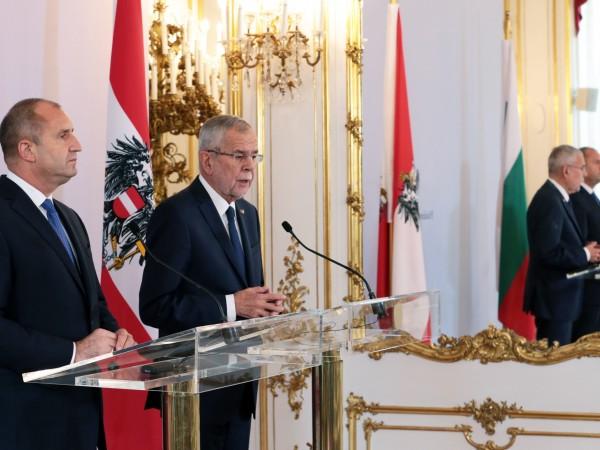 България и Австрия ще работят за утвърждаването на Дунавската стратегия