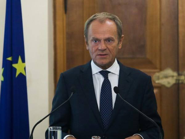 Председателят на Европейския съвет Доналд Туск остро критикува турския президент