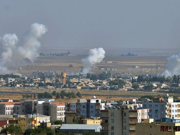 Ситуацията в сирийските райони по протежение на границата с Турция,